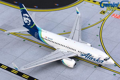 Alaska B737-700 N614AS 1:400 GJASA1871