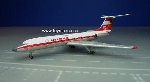 Interflug TU-134A DM-SCV 1:500 HE527095