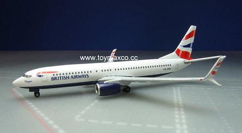 British Airways B737-800 1:500 HE530408