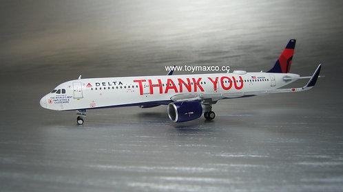 Delta Air Lines A320 N391DN Thank You 1:400 GJDAL1927