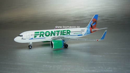 Frontier A320 neo N308FR Flamingo 1:500 HE534697