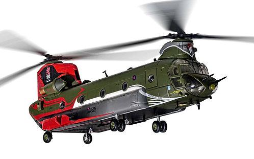Boeing Chinook HC4 RAF No. 18b Sqd 100Yrs. Ann. 1:72 AA34215