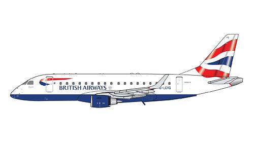 British Airways City Flyers E-170 G-LCYG 1:400 GJBAW1517