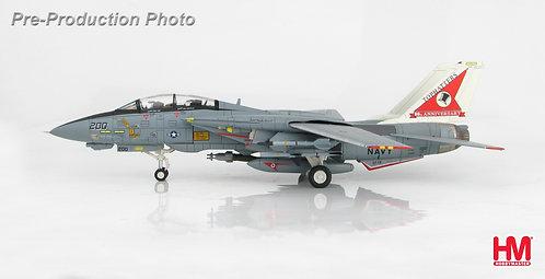 F-14A Tomcat US Navy VF-15 Tophatters  80th Ann 1:72 HA5214