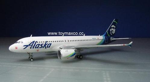 Alaska A320 N625VA 1:400 GJASA1774