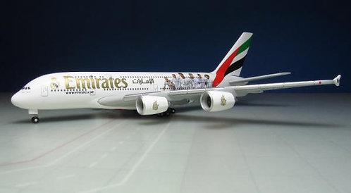 Emirates A380 Real Madrid 1:500 HE529242