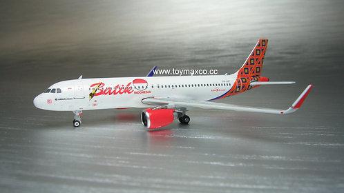 Batik A320 PK-LUT 1:400 PH11655