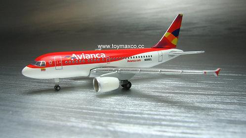 Avianca A318 N595EL 1:500 HE530088