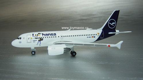 Lufthansa A319 D-AILU Lu & Cosmo 1:500 HE534451