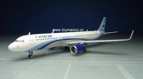 Interjet A321 1:400 GJAIJ1703