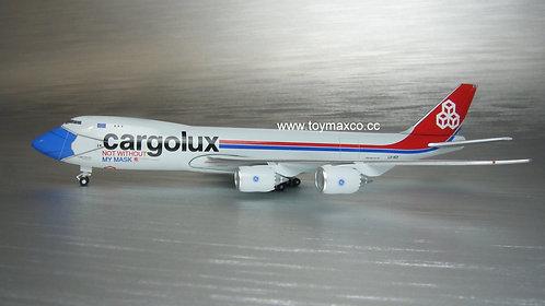 Cargolux B747-8F LX-VCF Facemask 1:500 HE534895