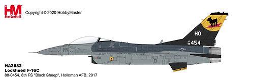 F-16C USAF 54th FG 8th FS Black Sheep 1:72 HA3882