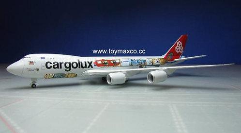 Cargolux B747-8F 45th Ann. LX-VCM 1:500 HE529716