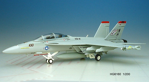 F-18F US Navy VFA-41 Black Aces NH100 1:200 HG6160