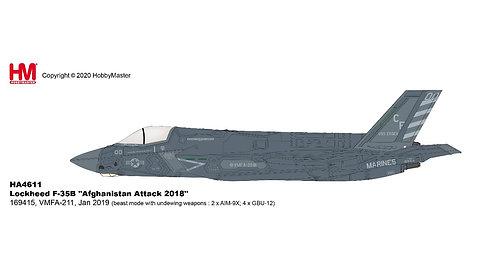 F-35B US Marines VFMA-211 Wake Island Avenger MCAS Yuma 1:72 HA4612