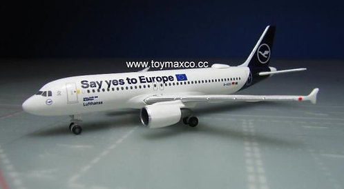 Lufthansa A320 Say Yes to Europe D-AIZG 1:500 HE533614