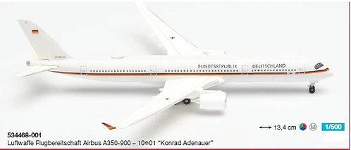 Luftwaffe A350-900 10=01 1:500 HE534468-001