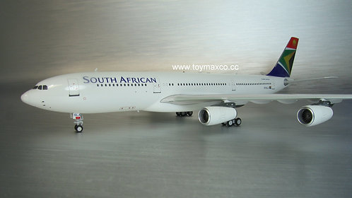 South African A340-200 ZS-SLA 1:200 IF342SAA07