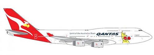 Qantas B747-400 1:400 GJQFA1298