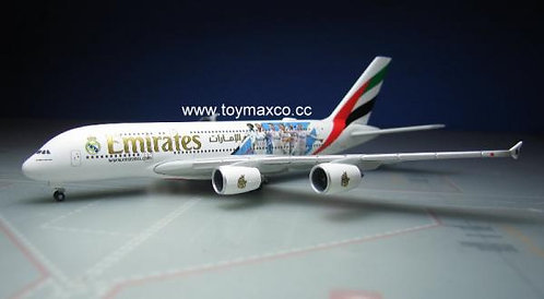 Emirates A380-800 RealMadrid 1:500 HE531931
