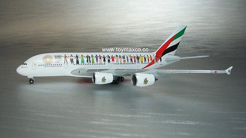 Emirates A380-800 A6-EVB Expo 2020 Dubai 1:500 HE534352
