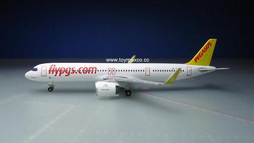 Pegasus Airlines A321neo TC-RBA 1:500 HE534161