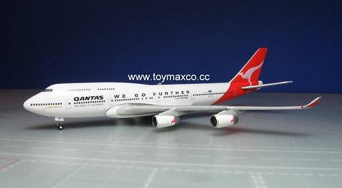 Qantas B747-400 VH--OJA City of Camberra 1:500 HE500609-001