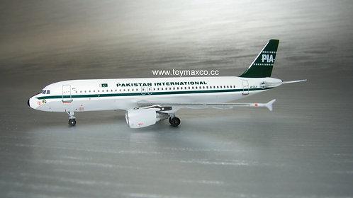 PIA Pakistan A320 AP-BLA 1:400 ACAPBLA