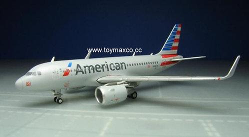 American Airlines A319 w/ winglets N8027D 1:400 GJAAL1702