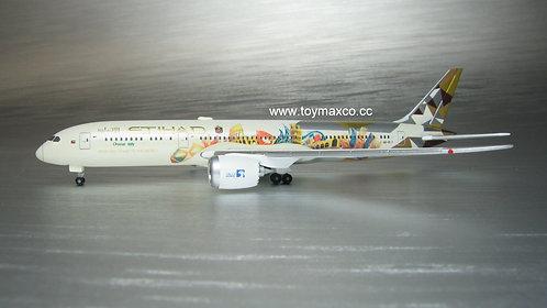 Etihad Airways B787-9 A6-BLT Choose Italy  Club Model 1:500 HE534765
