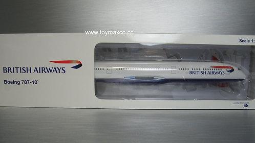 British Airways B787-10 G-ZBLA 1:200 HG11502