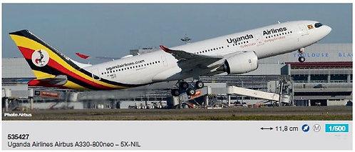 Uganda A330-800 neo 5X-NIL 1:500 HE535427