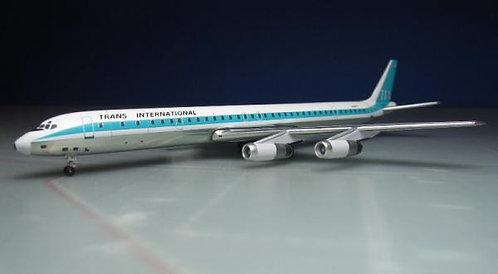 TIA DC-8-61 N4867T 1:400 ACN4867T