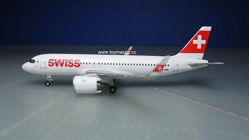 Swiss A320 neo HB-JDA 1:500 HE534413