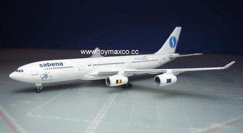 Airbus A340-200 OO-SCX 1:500 HE532655