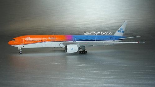 """KLM B777-300ER Orang Pride """"100"""" PH-BVA 1:400 GJKLM1905"""