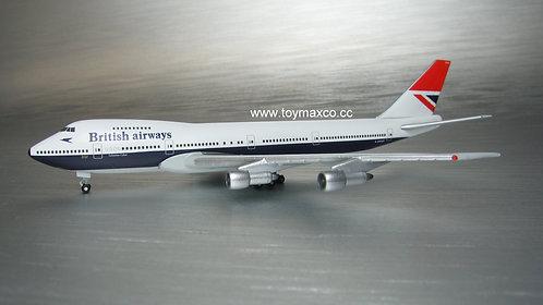 British Airways B747-100 G-AWNN 747 Farewell 1:500 HE534857