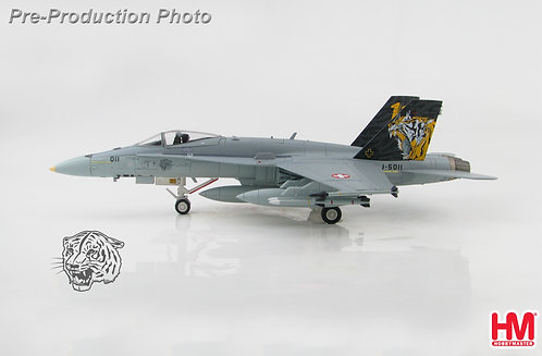 F-18 C Swiss Air Force J-5011 1:72 HA3598