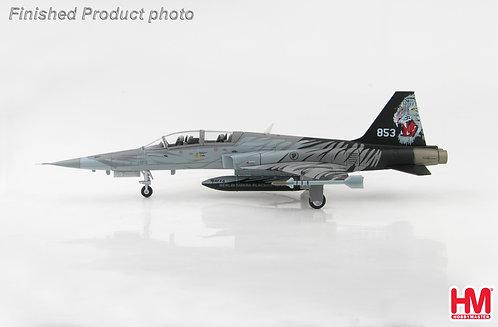 F-5 T RSAF 144th Sq. Blackite #853 Singapore 1:72 HA3340