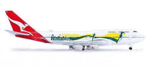 Qantas B747-400 Go Wallabies 1:500 HE520959