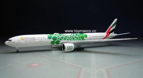 Emirates B777-300ER Expo2020 Green 1:500 HE533720
