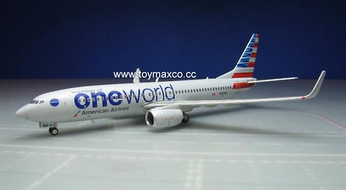 American Airlines B737-800 OneWorld 1:400 GJAAL1734