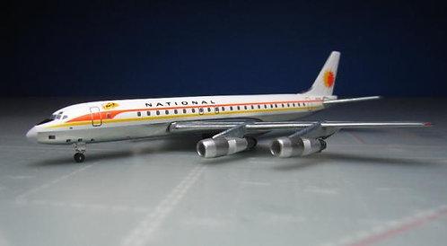 National DC-8-50 N774C 1:400 ACN774C