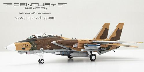 F-14 A US Navy Fighter Weapons School TopGun 33 Miramar CA 1:72 ?�CW001636