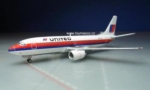 United B37-300 N327UA 1:400 GJUAL1203