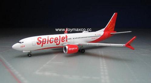 Spicejet B737 Max 8 1:500 HE533638