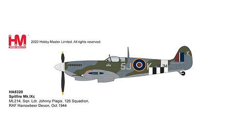 Spitfire MkIX RAF 126 Sqn Johnny Plagis England 1944 1:48 HA8320