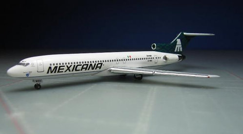 Mexicana B727-200 1:400 ACXAMEE