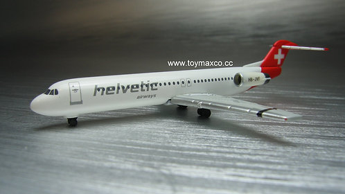 Helvetic Airways Fokker 100 HB-JVF 1:500 HE534703