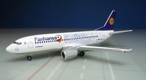 Lufthansa B737-300 Fanhansa 1:500 HE529594